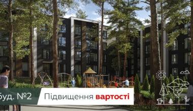 Планове Збільшення вартості останніх квартир в будинку №2